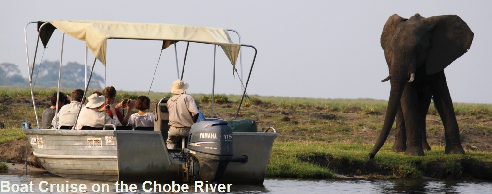 Boat Cruise on the Chobe River, Botswana